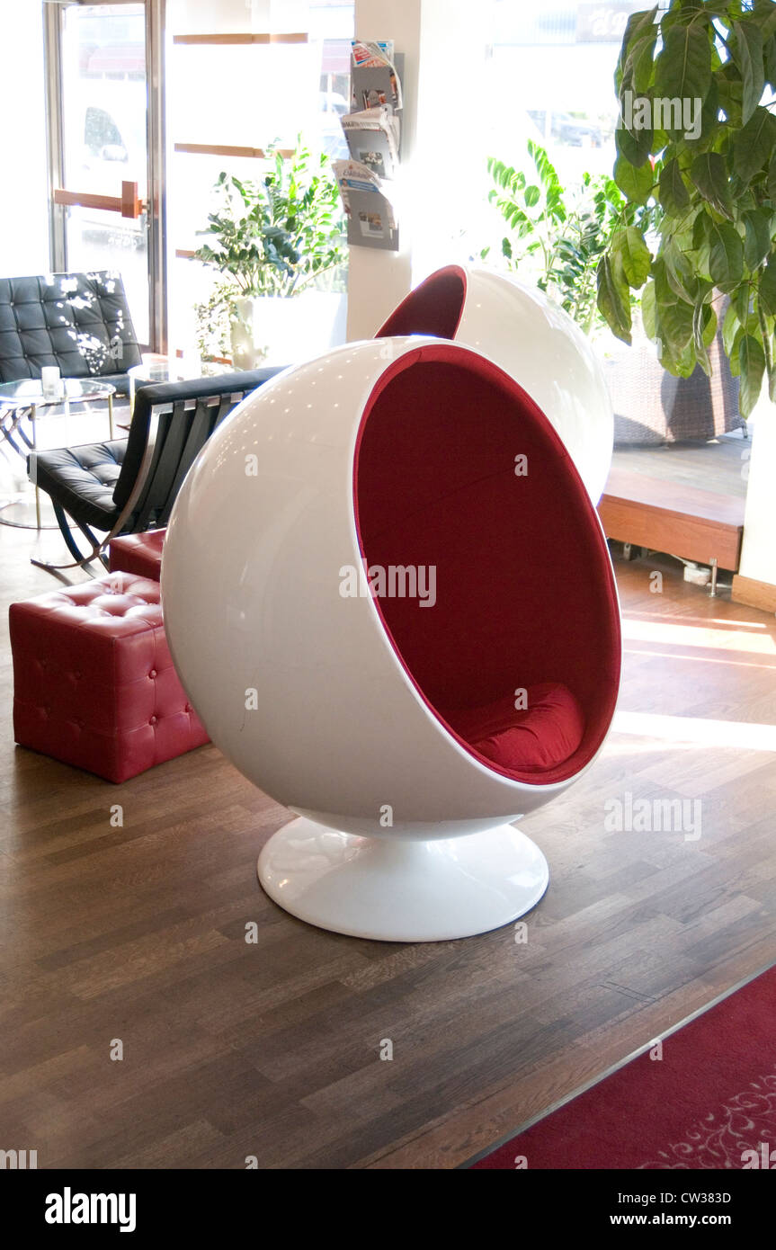 Stock Photo   bubble retro chair chairs furniture classic design classics  1960 nineteen sixties iconic ball furnishing interior designers cool. bubble retro chair chairs furniture classic design classics 1960