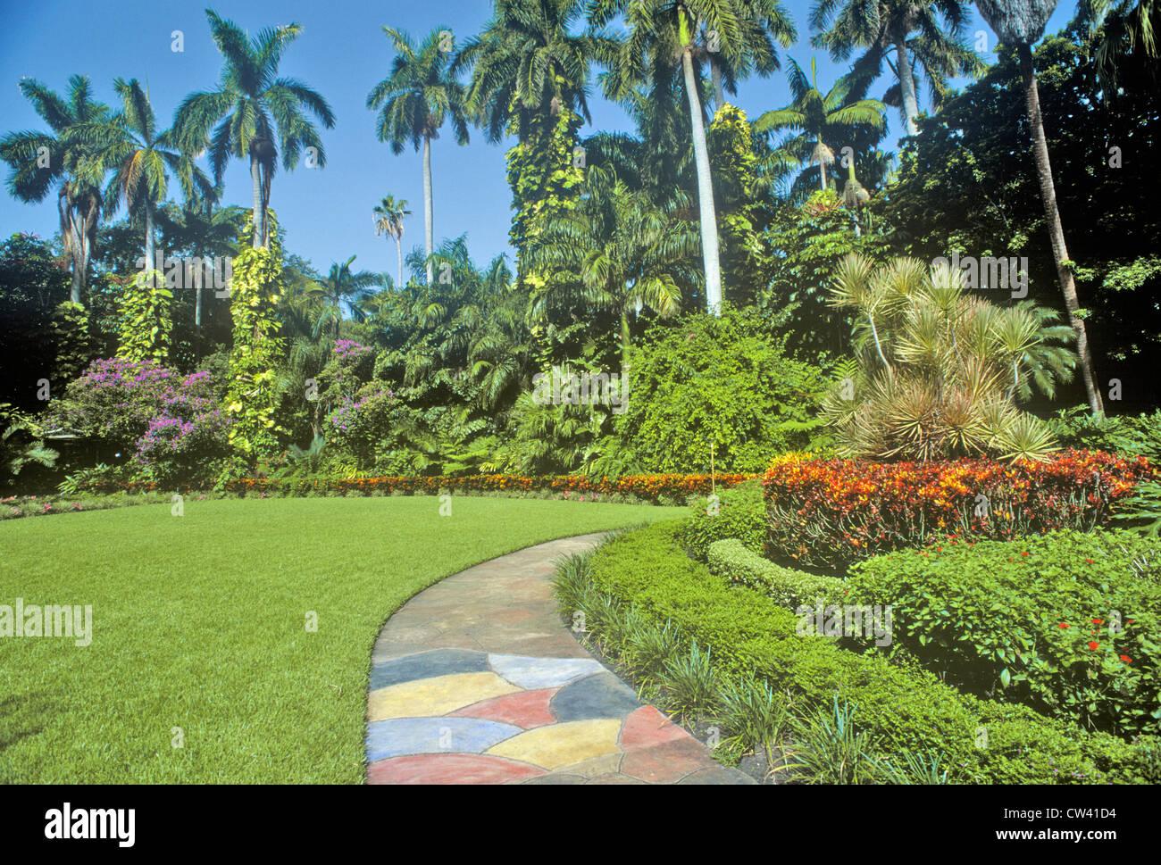 Sunken Gardens Florida 39 S Foremost Botanical Gardens St Petersburg Stock Photo Royalty Free