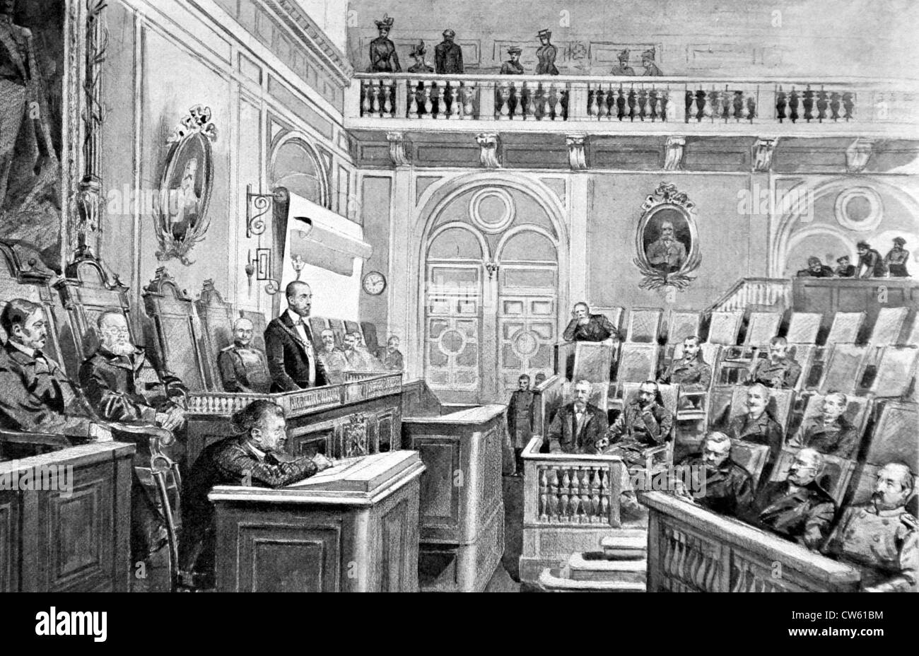 Russian Duma 1905 St. Petersburg, sessio...