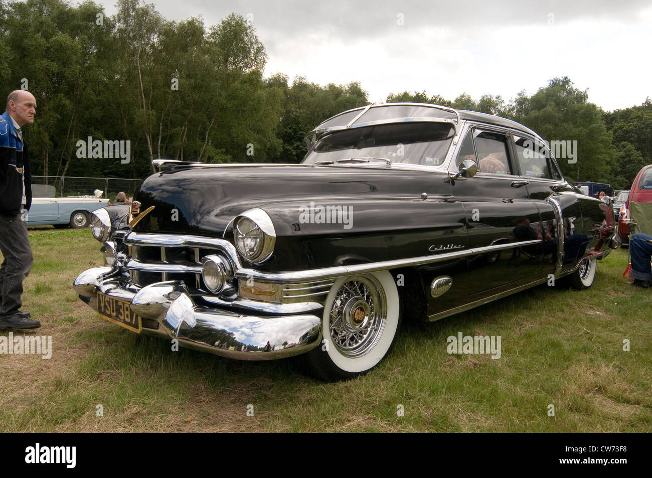 Cadillac caddy 1951 classic cars car chrome american stock for American classic motor cars