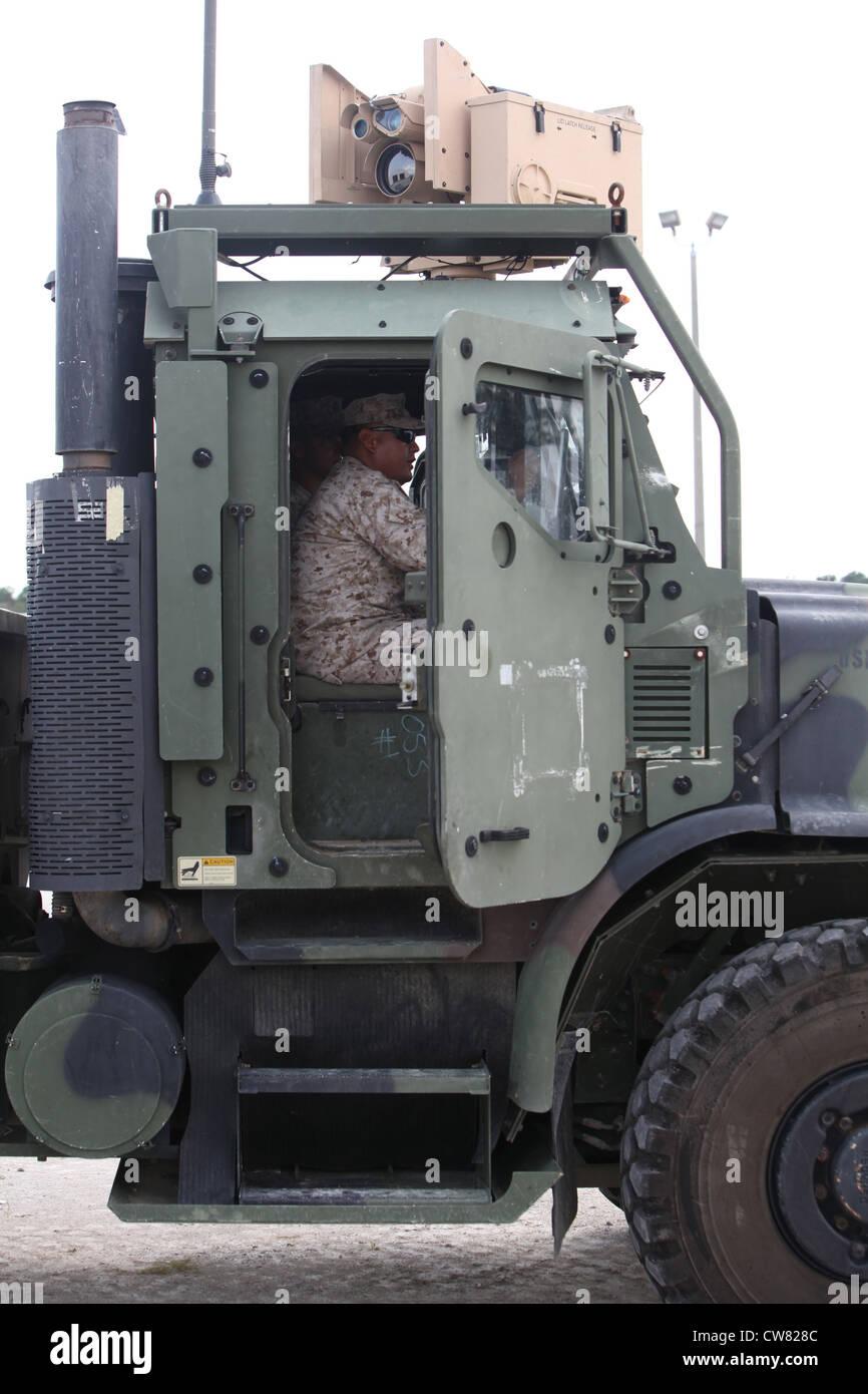 Sgt Emerson C Mason Inside Cab A Motor Vehicle
