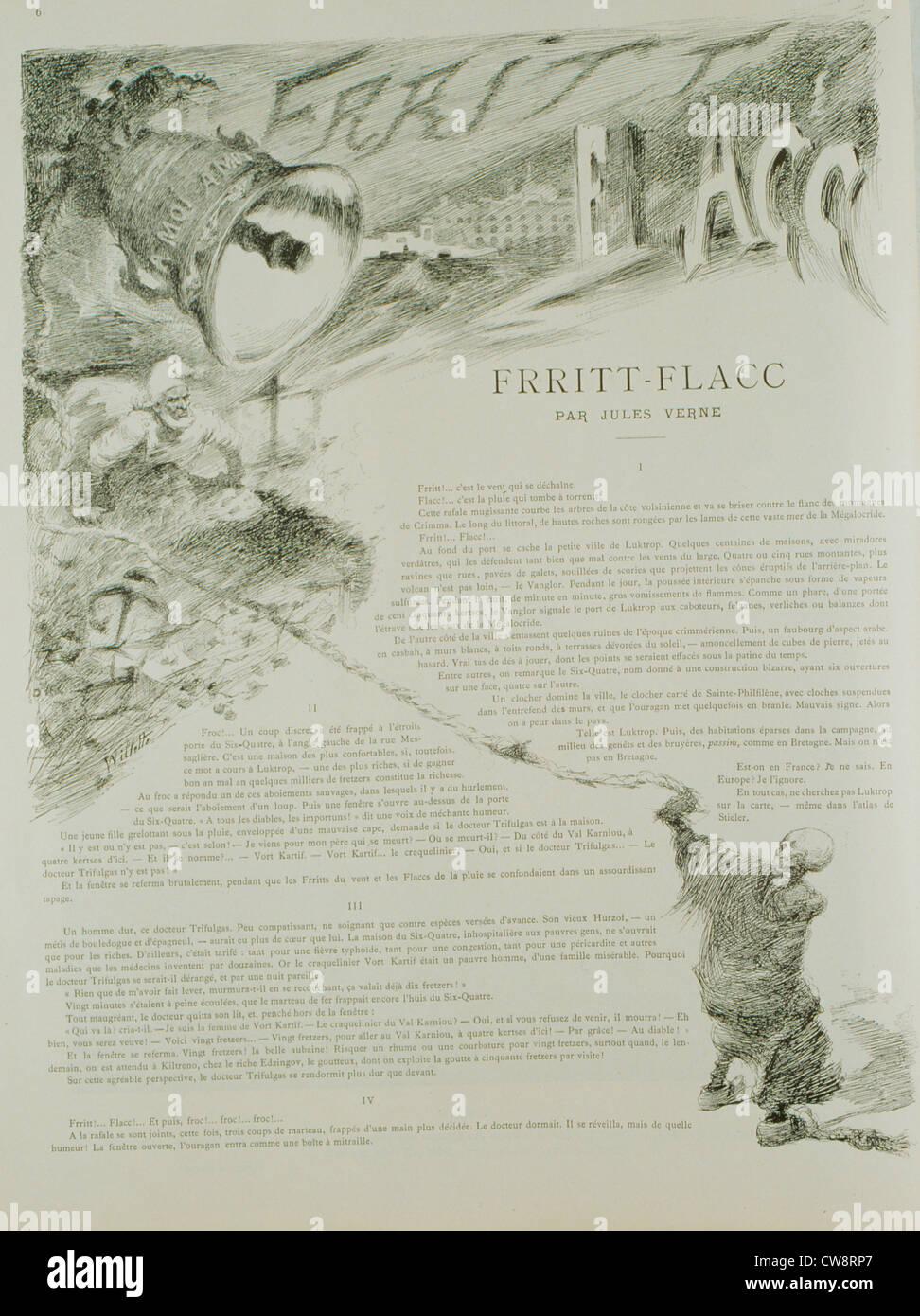 Frritt Flacc Short Story Jules Verne Illustration Willette