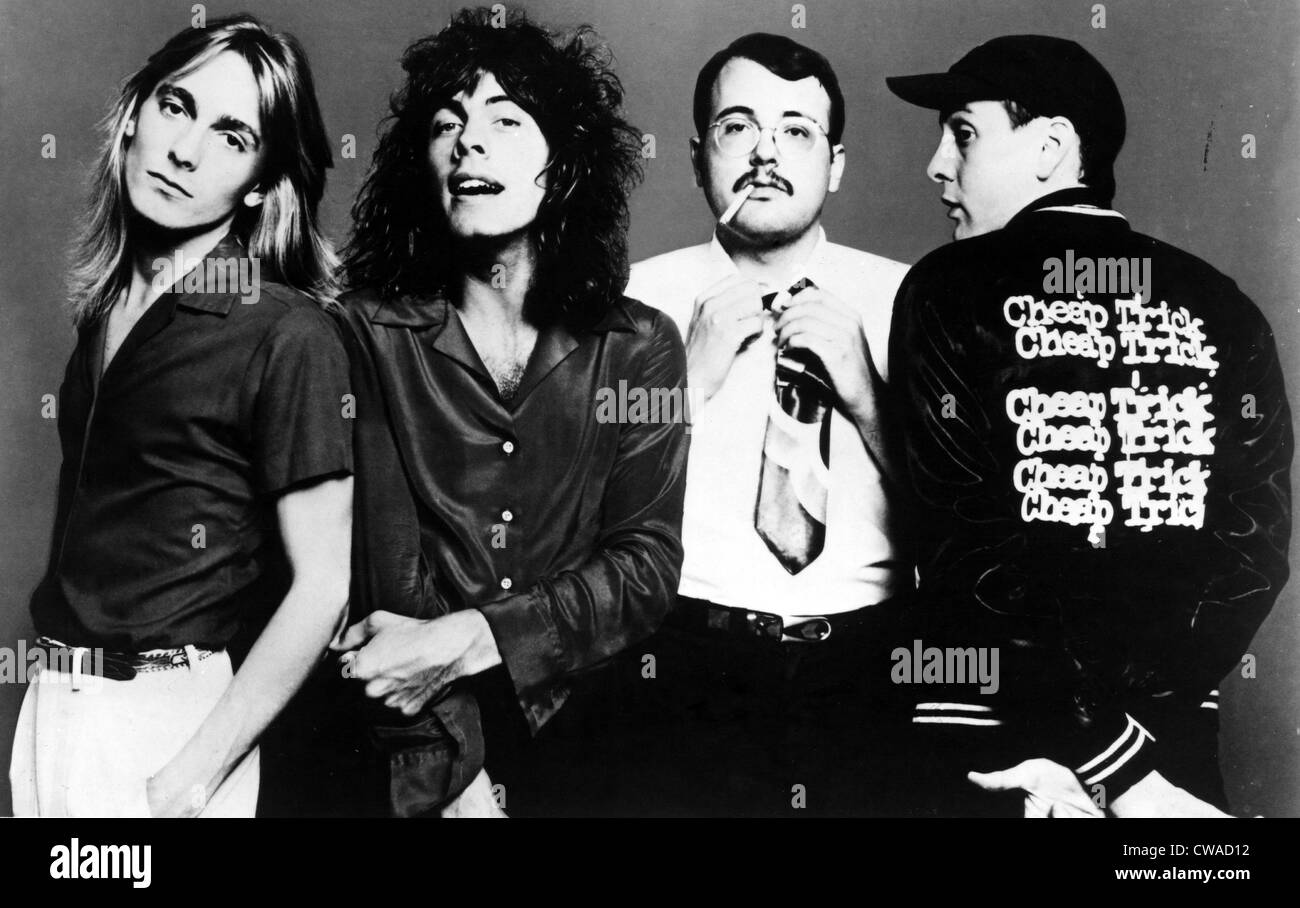 nielsen stock photos nielsen stock images alamy cheap trick robin zander tom peterson bun e carlos rick nielsen