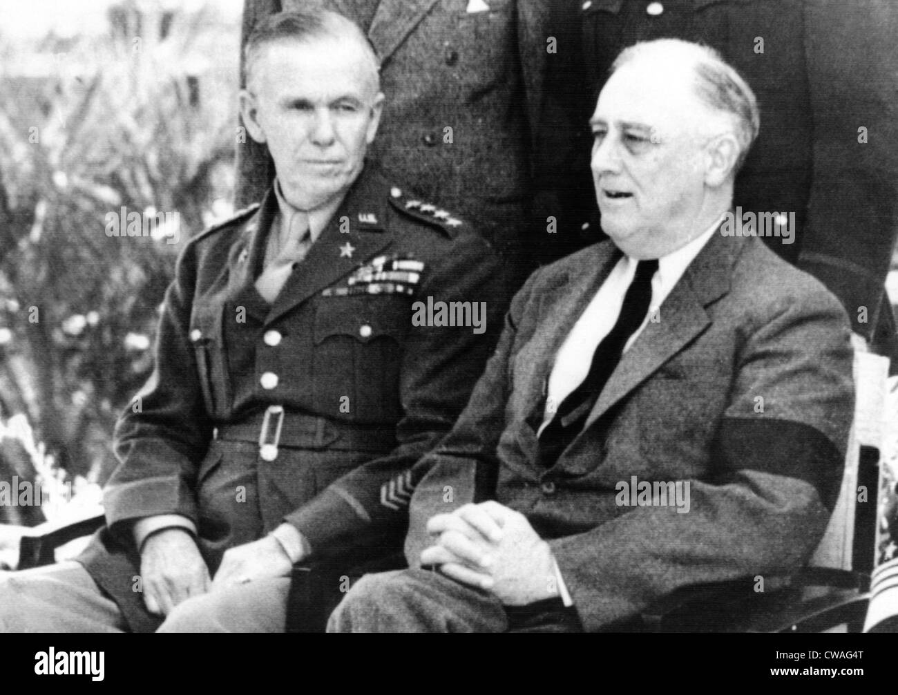 General george c marshall quotes - General George C Marshall President Franklin D Roosevelt Africa 1943