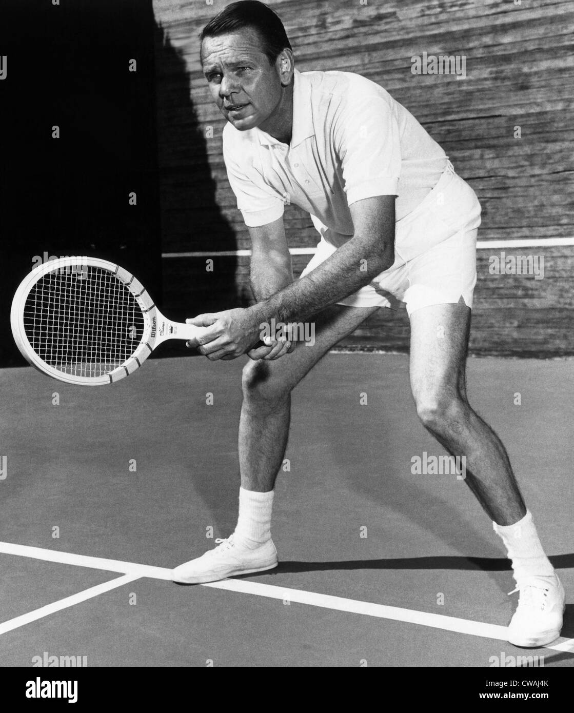 Jack Kramer champion U S tennis player of the 1940s Portrait