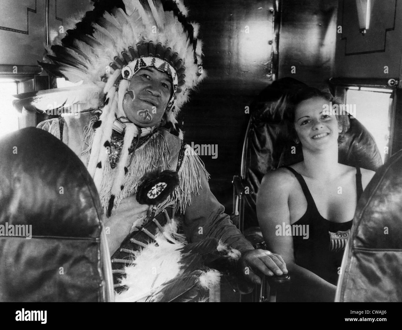 American Olympic athletes Jim Thorpe, Josephine McKim ...