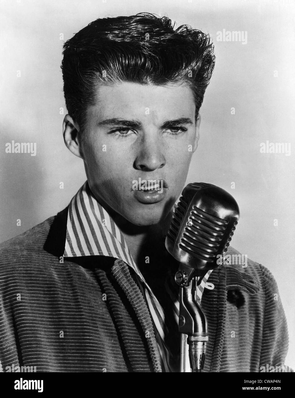 Singer And Teen Idol Ricky Nelson, (1940-1985), C. 1957
