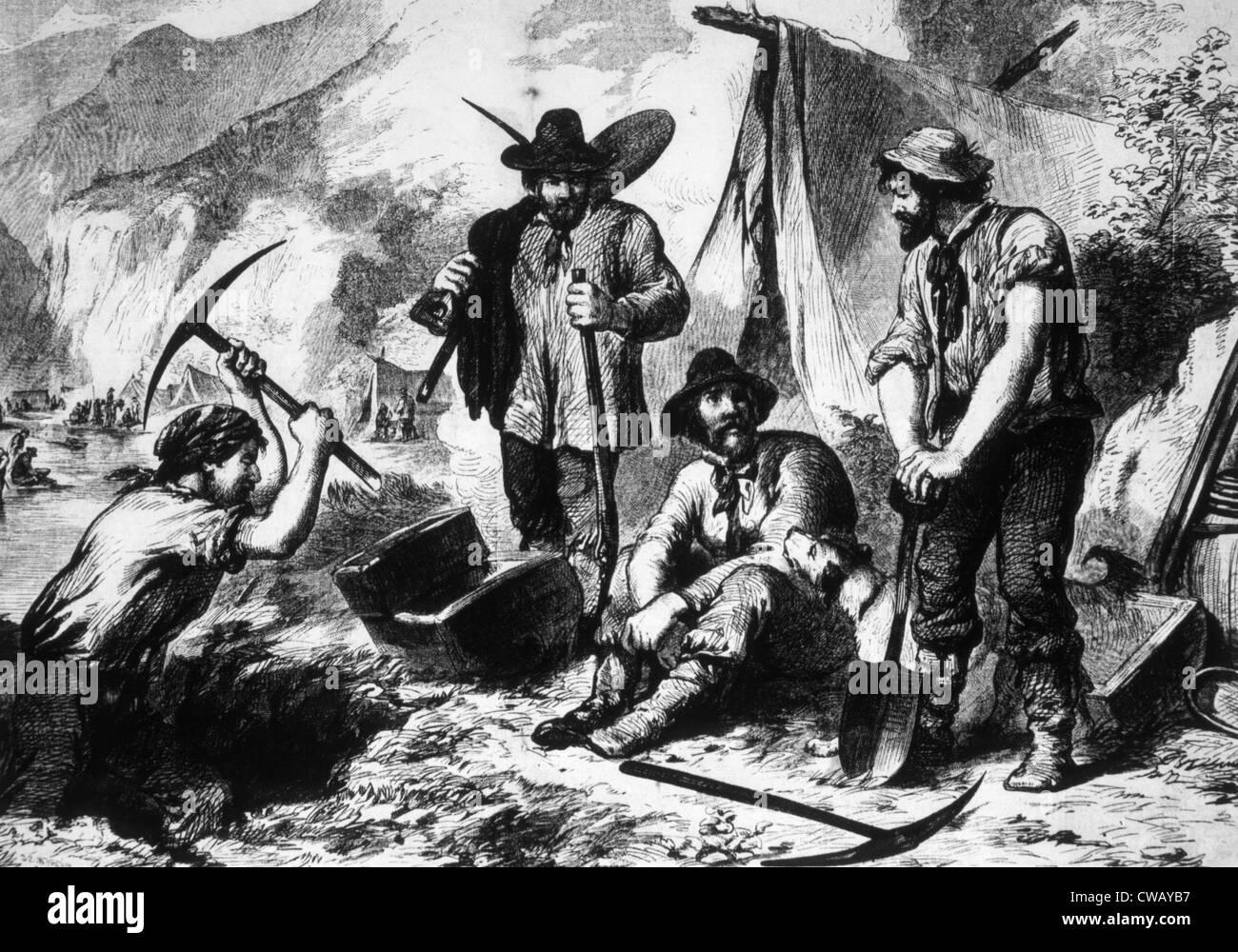 free gold rush