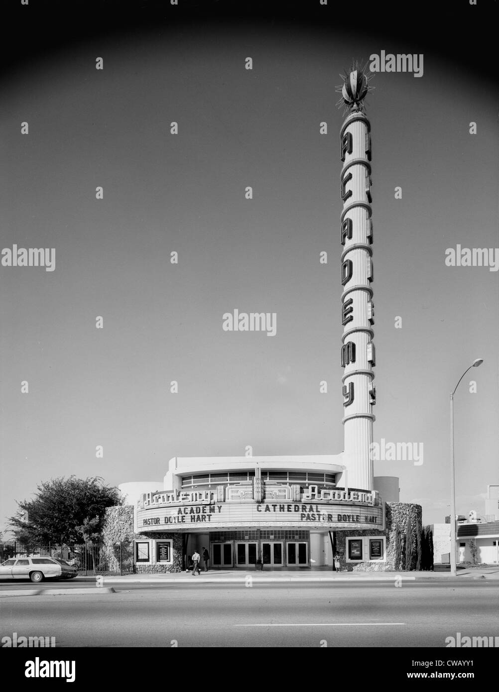 Movie Theaters  the Academy Theater  3141 West Manchester Boulevard  Inglewood  Los Angeles  California  circa 1970s. Movie Theaters  The Academy Theater  3141 West Manchester