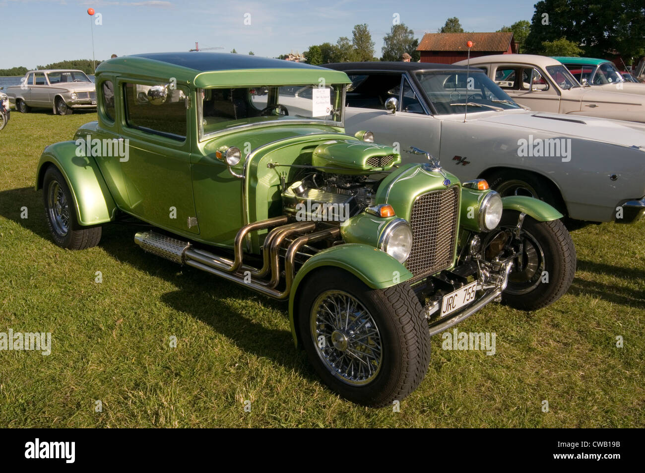 hot rod rods custom car cars customized model A ford customised ...
