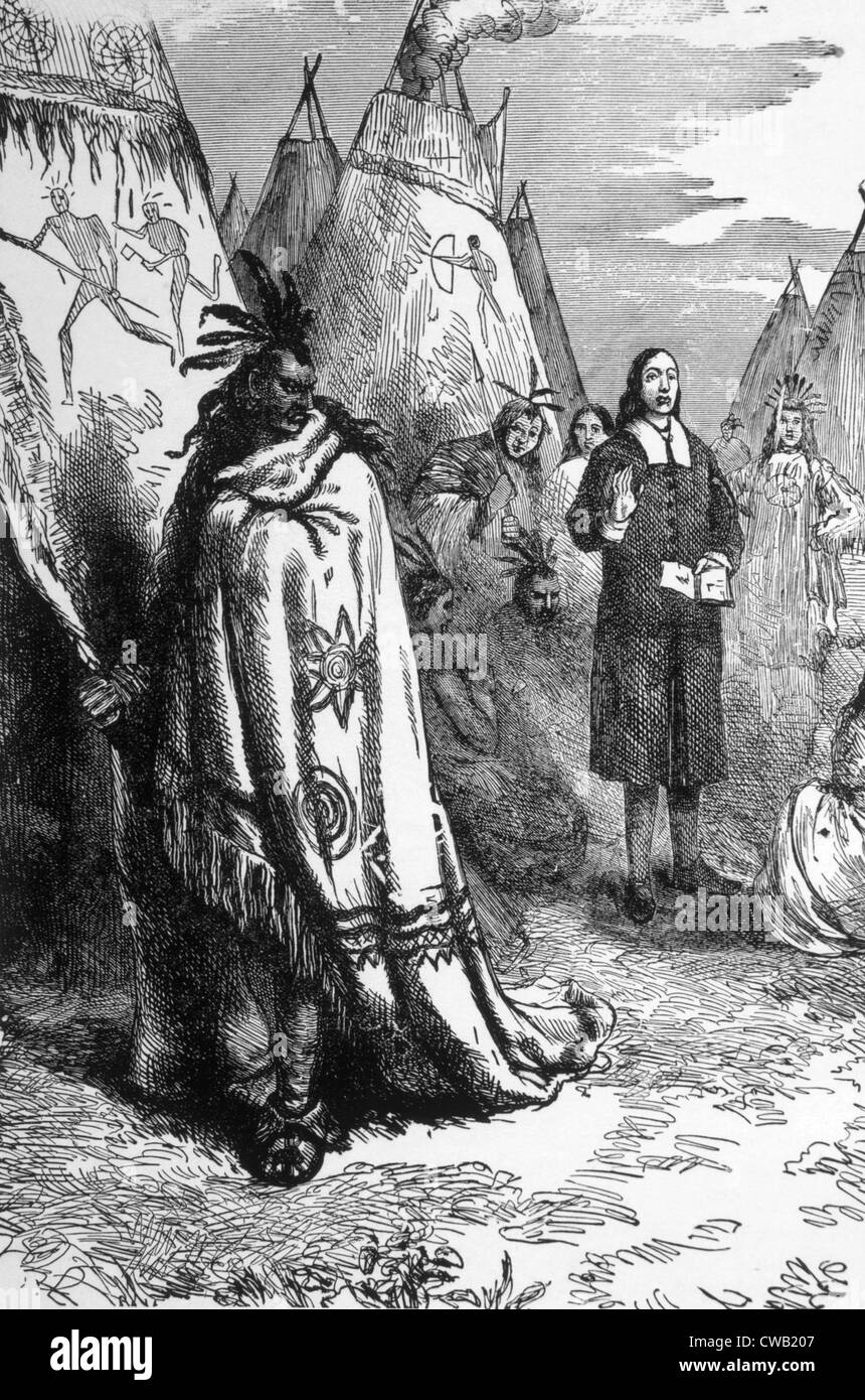 an introduction to the history of native americans and puritan religion Puritanism in colonial america: beliefs & definition  because the puritans had  not actually purchased their lands from the native americans.