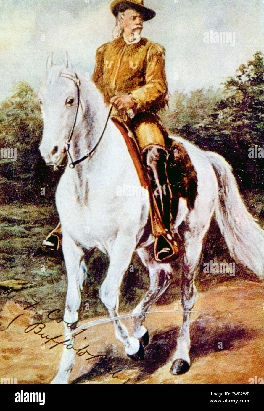 william buffalo bill cody The discovery of precious minerals near tucson attracted the famous western  entertainer william buffalo bill cody to oracle in the early 1900s to invest in.