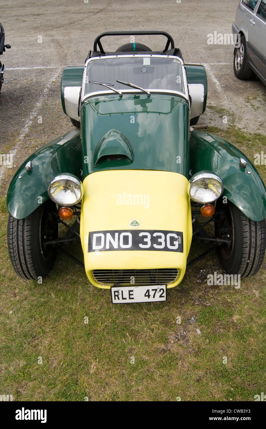Lotus Seven Sports Car Cars Small Light Weight S - Sports cars 50s