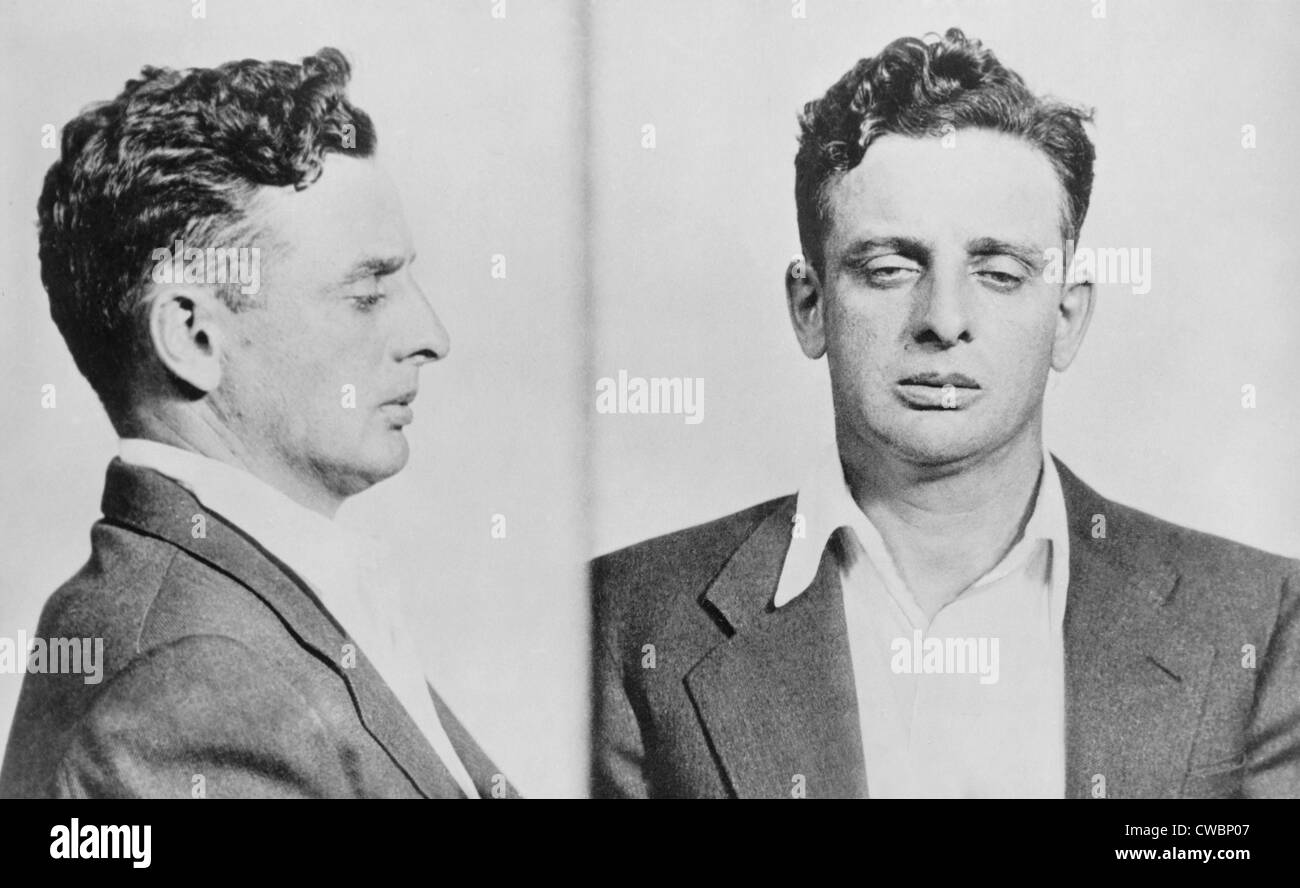 Roger Touhy 1898 1959 In 1933 Police Mugshots The