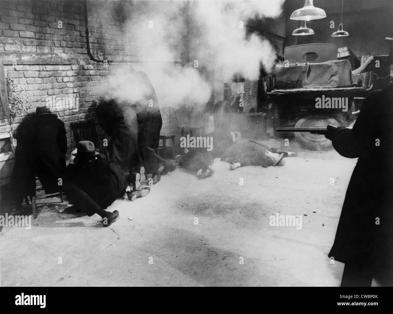 Re Enactment Of The St. Valentineu0027s Day Massacre From Roger Cormanu0027s 1967  Film, THE ST. VALENTINEu0027S DAY MASSACRE