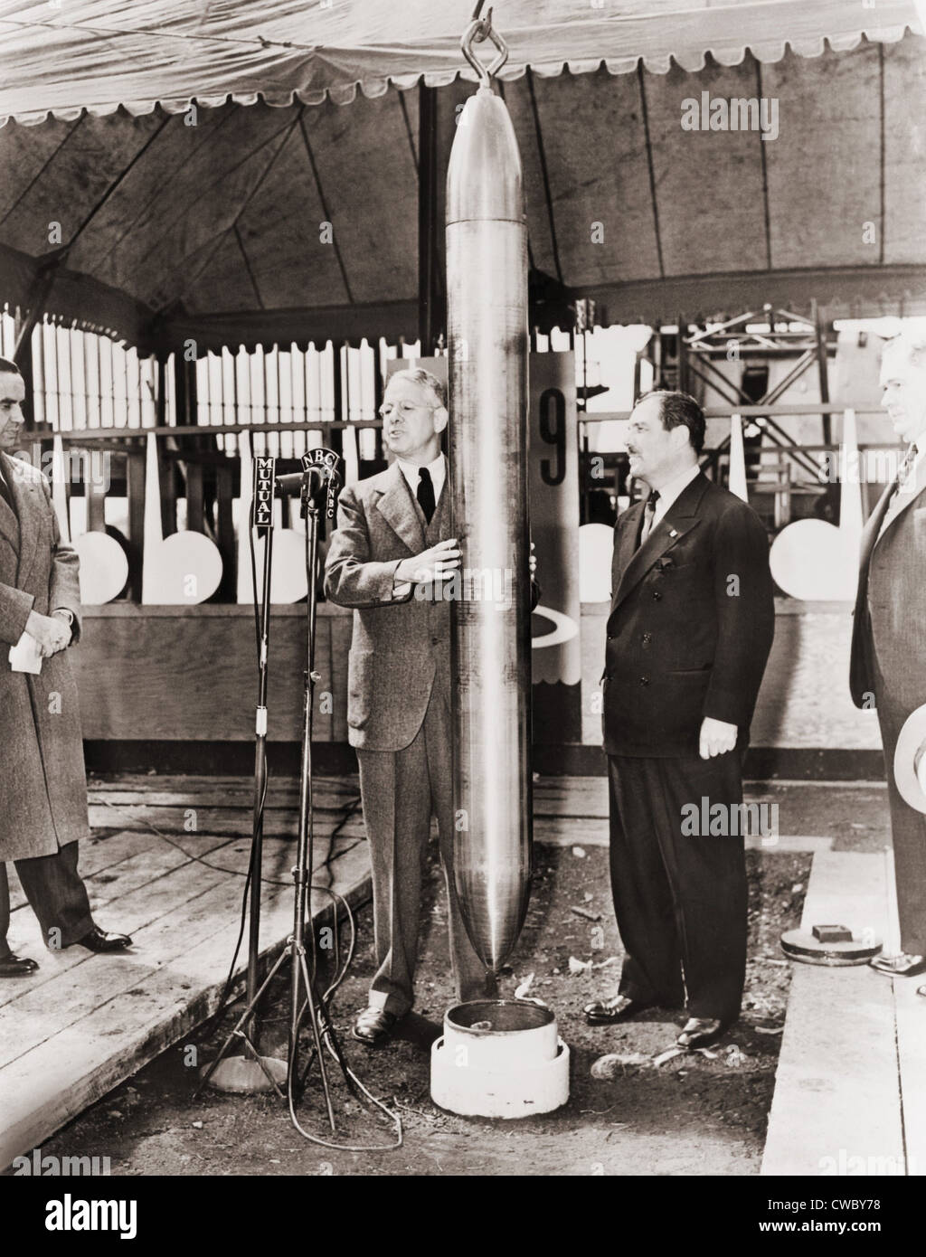 Westinghouse Time Capsules: Grover Whalen And A.W. Robertson Watching The Westinghouse