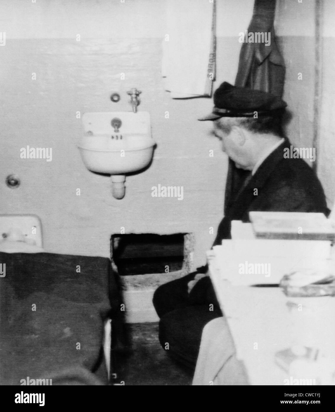 Inside Alcatraz The Hole Prison guard si...