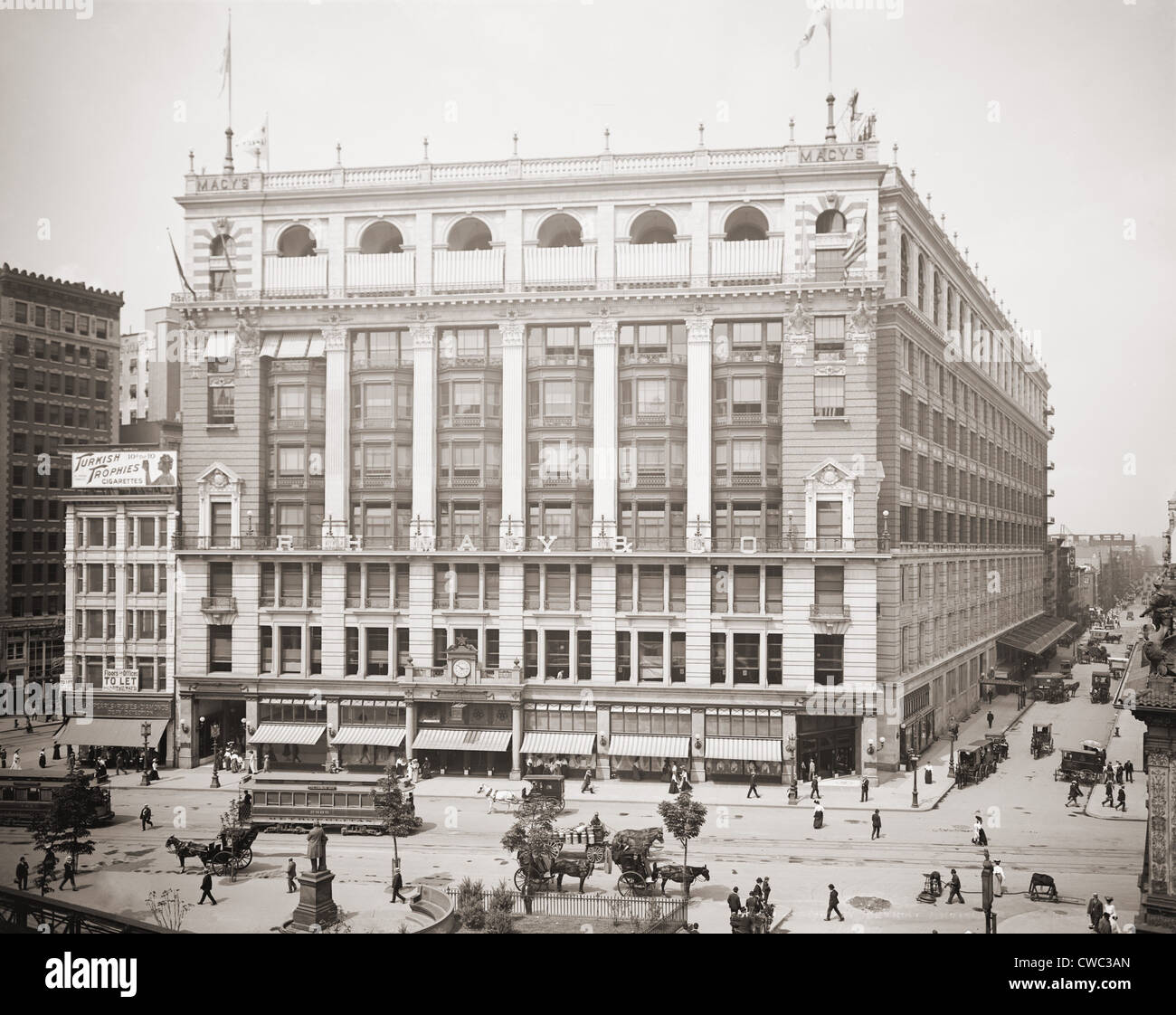 R.H. Macy And Company Department Store At Herald Square In