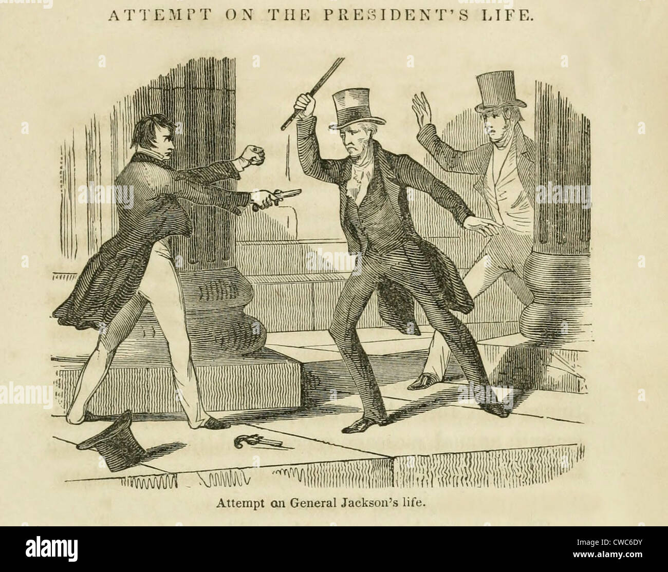 assassination attempt on president andrew jackson on jan 30 1835 richard lawrence an unemployed housepainter from england