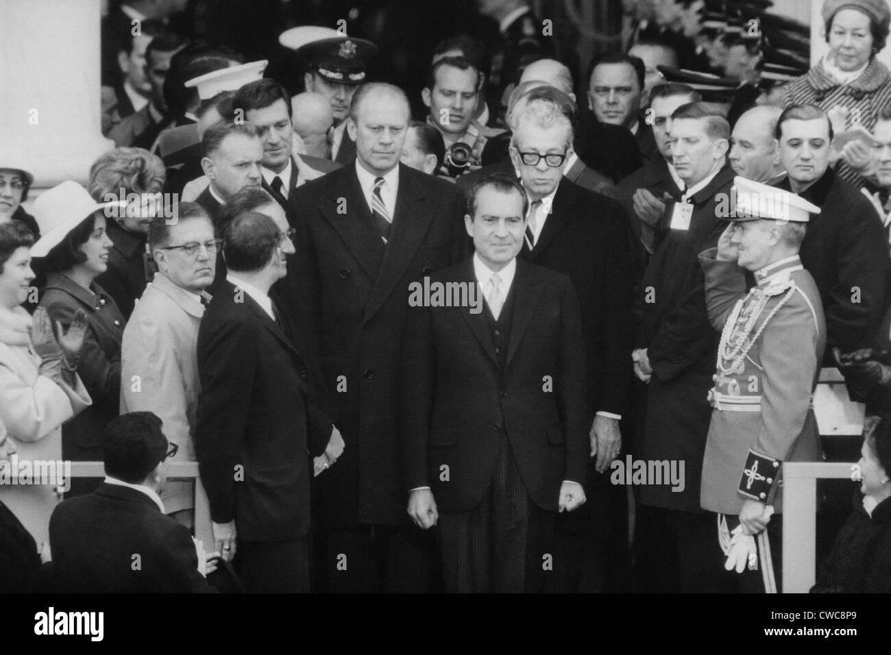 Top Congressional Republicans Rep Gerald Ford And Sen