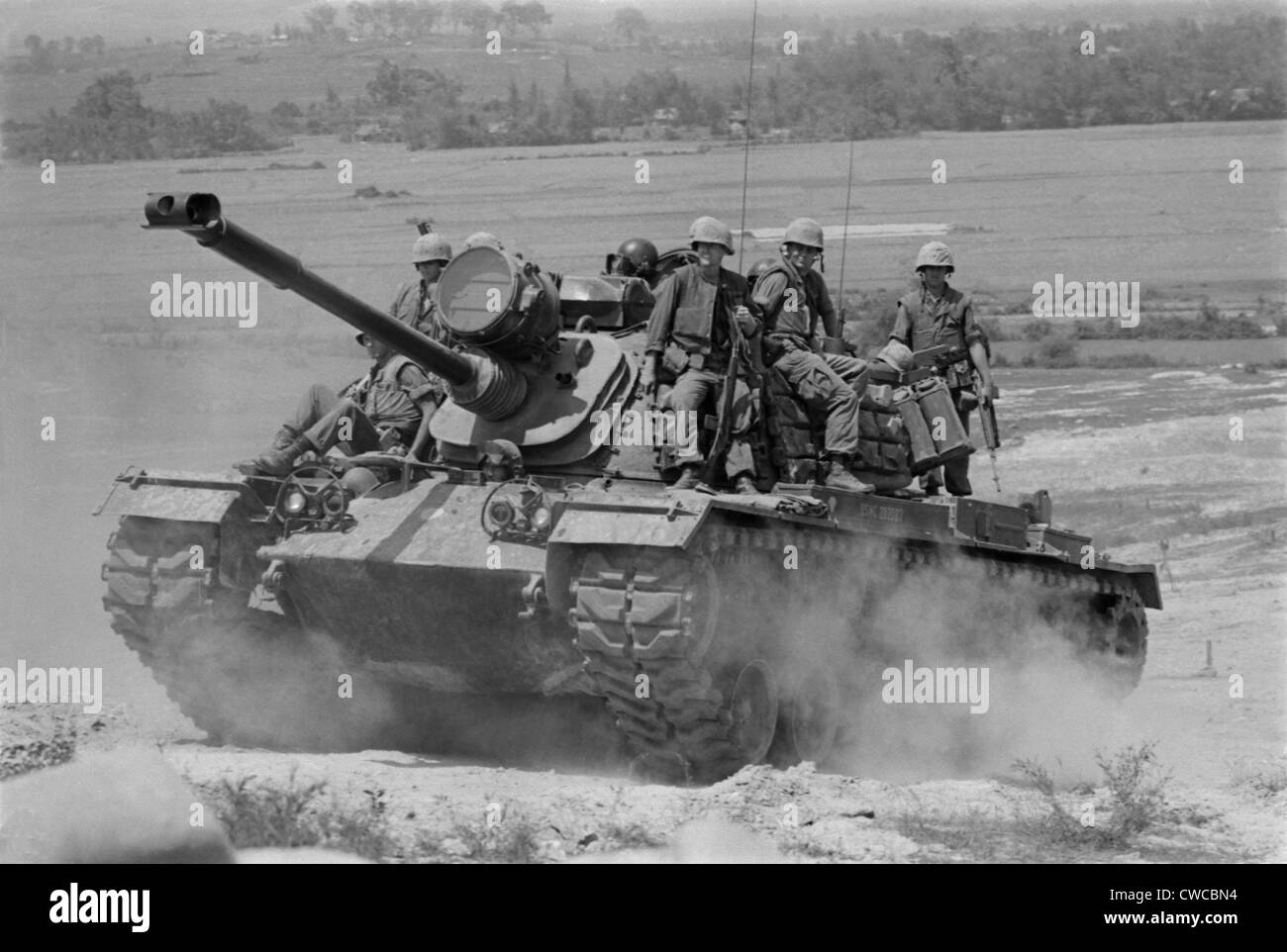 Vietnam war us marines riding on an m 48 tank in south vietnam vietnam war us marines riding on an m 48 tank in south vietnam 1966 sciox Image collections