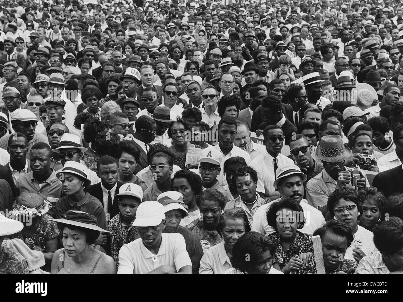 Crowd of African Americans Were African Americans And