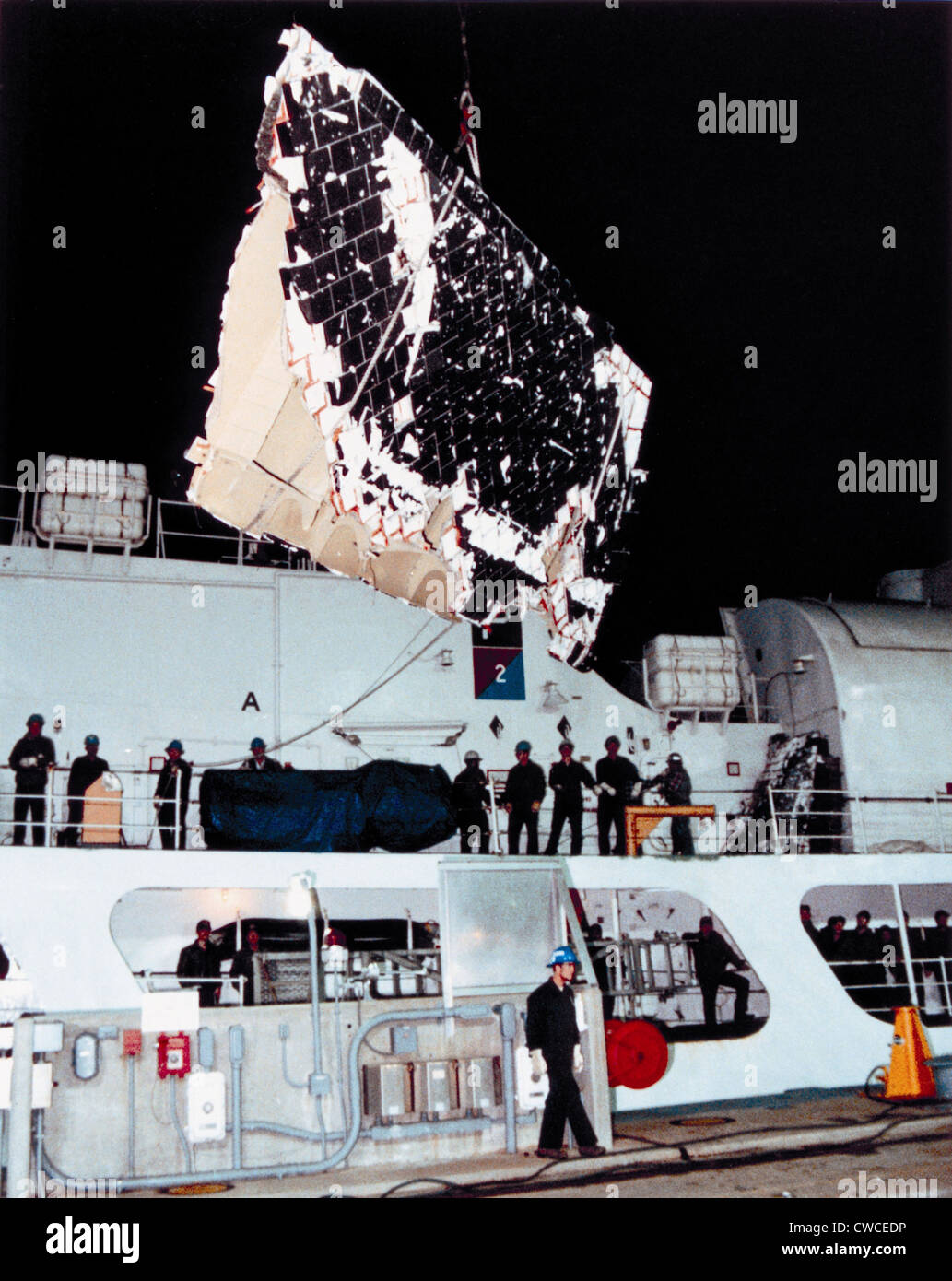 space shuttle challenger recovery - photo #6