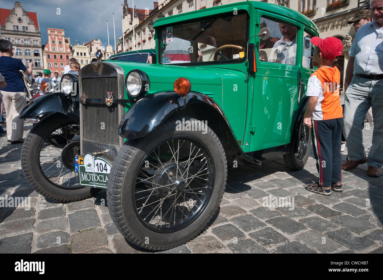 1929 Bmw Dixie At Motoclassic Car Show At Rynek Market Square In
