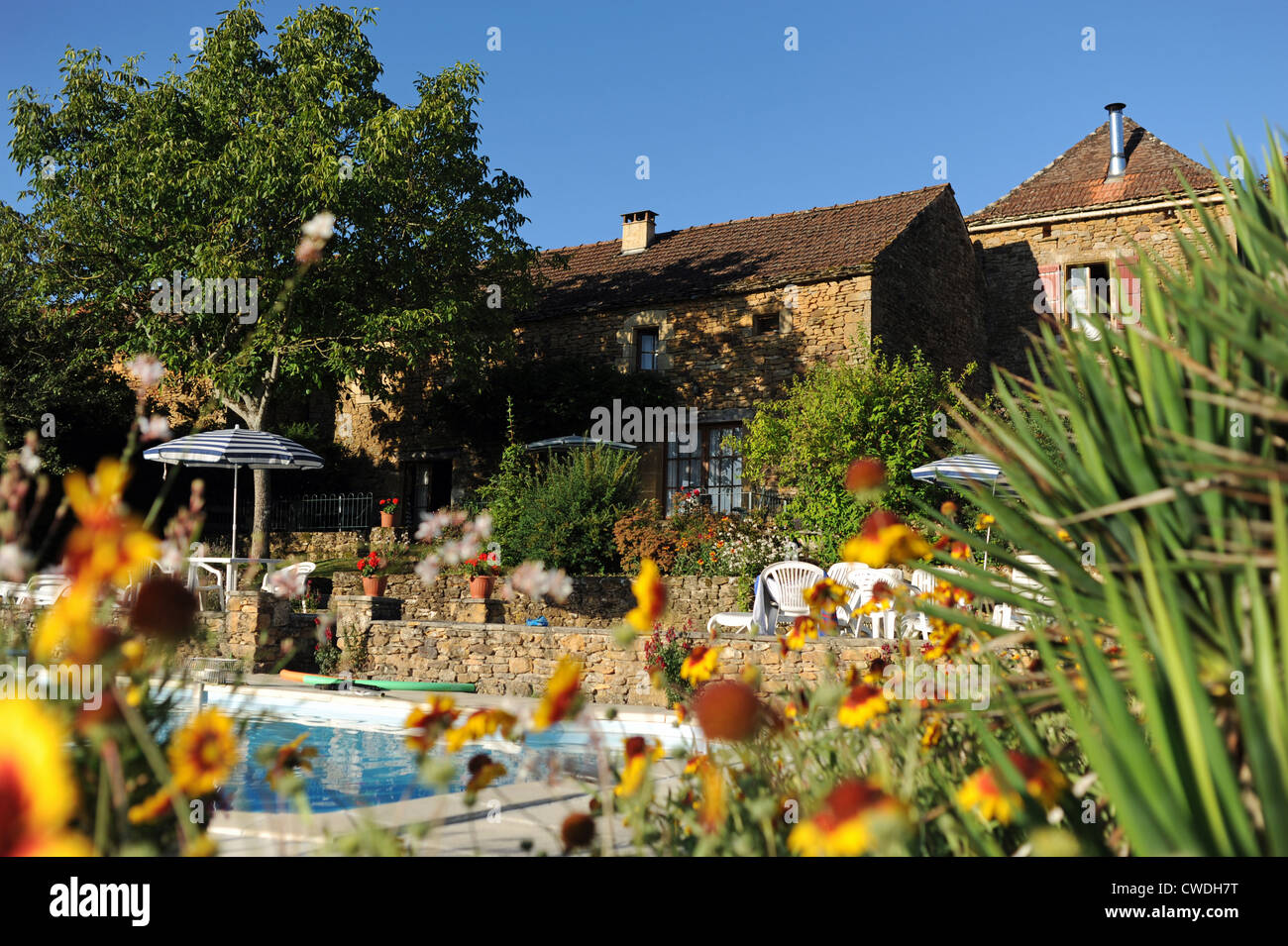 Holiday Gite With Swimming Pool In The Lot And Dordogne Region Of South West  France Europe