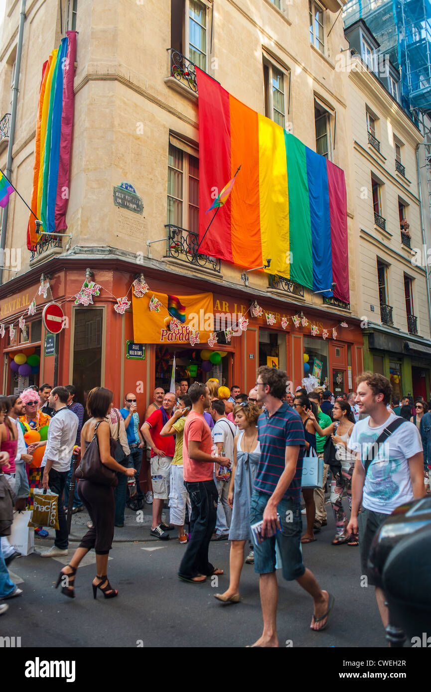in the French capital including the Paris Gay and Lesbian