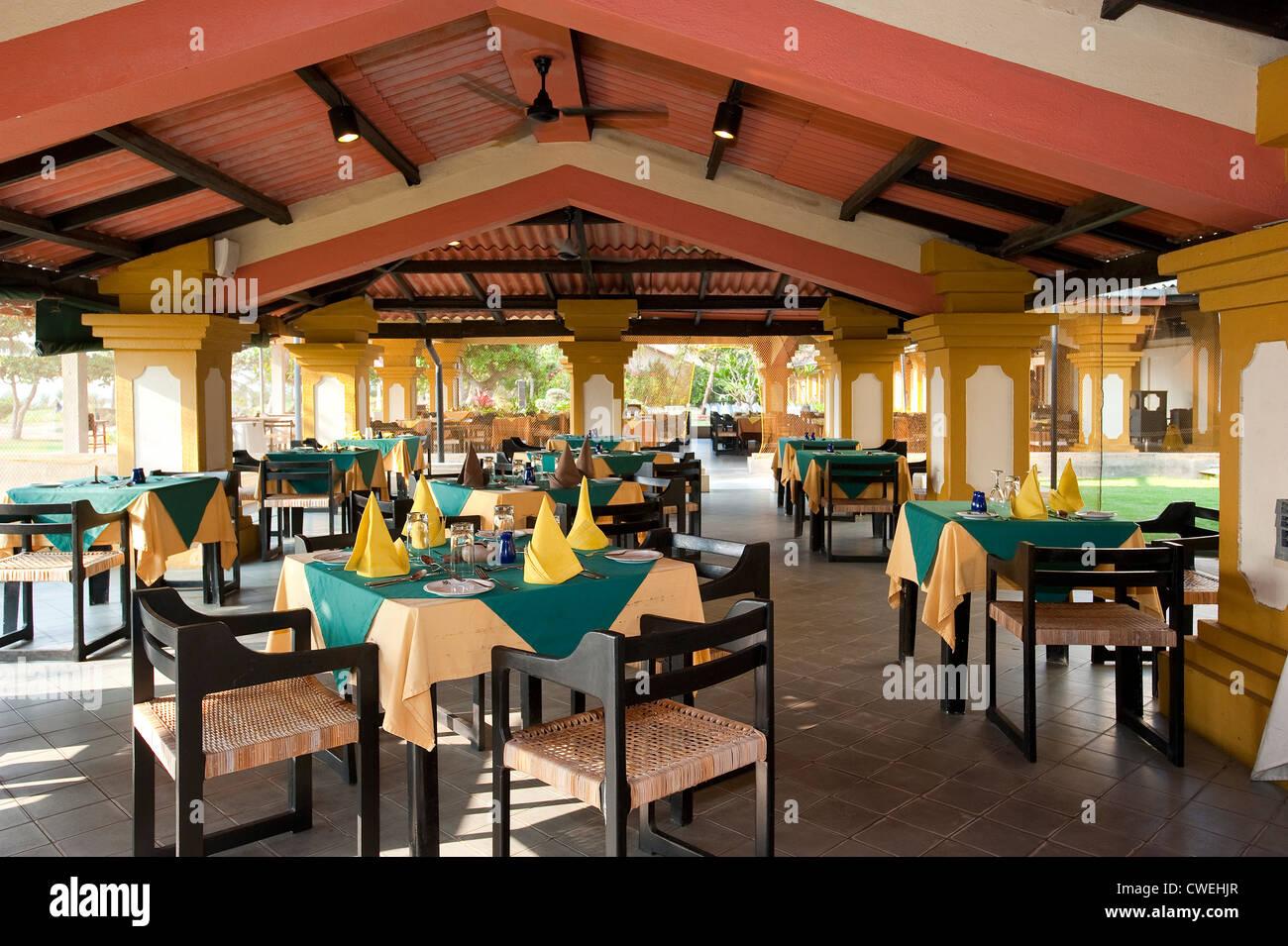 Buffet Restaurant at Browns Beach Hotel, Negombo, Sri Lanka - Buffet Restaurant At Browns Beach Hotel, Negombo, Sri Lanka Stock