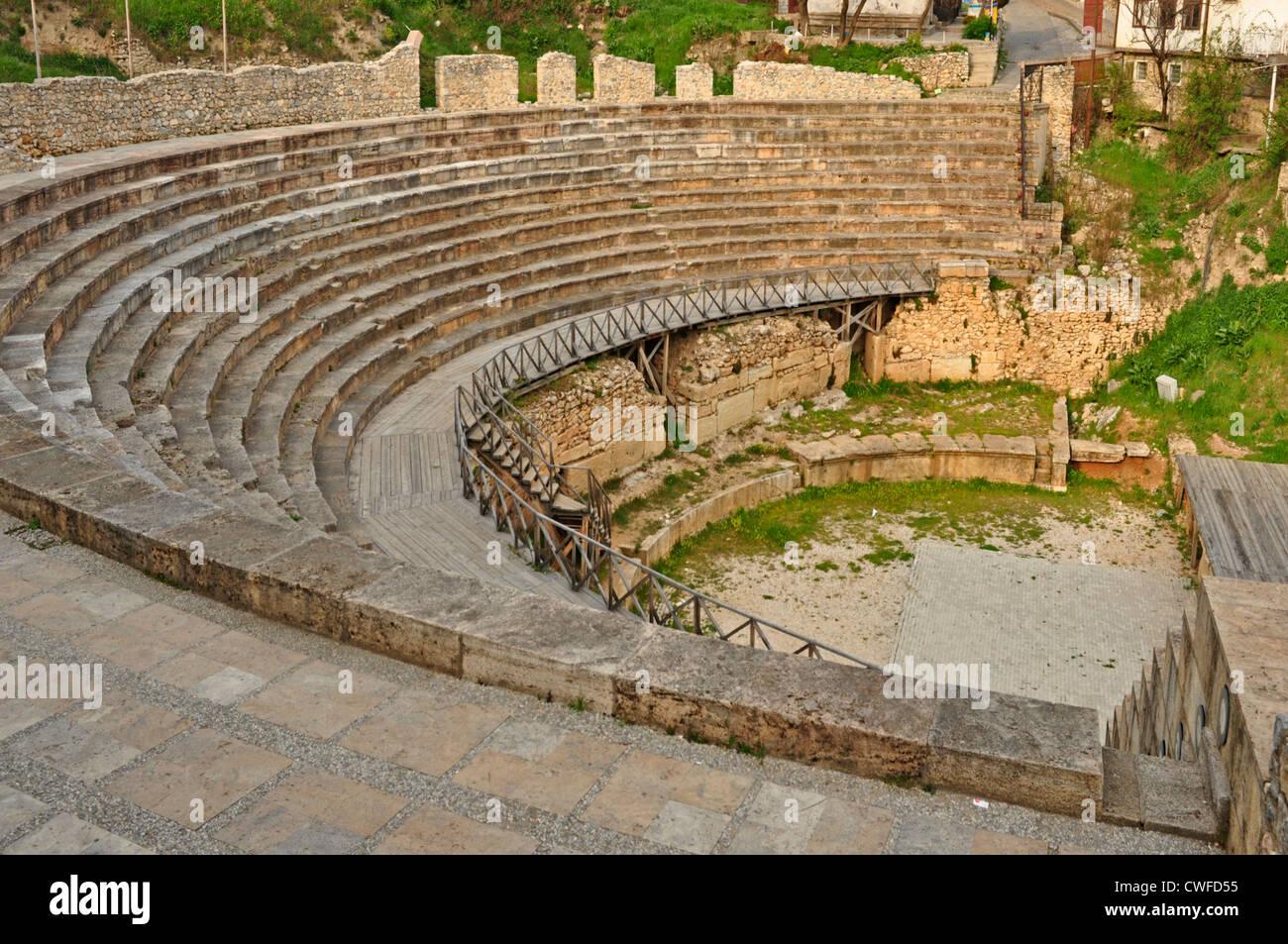 Europe macedonia ohrid roman amphitheatre 1st century ad stock europe macedonia ohrid roman amphitheatre 1st century ad publicscrutiny Image collections