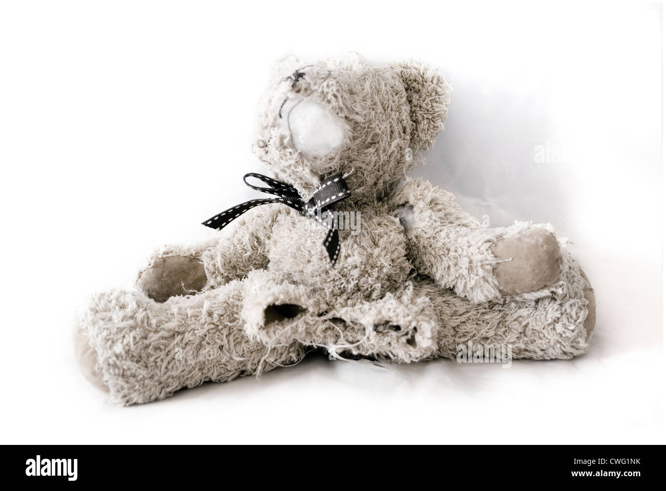 Ripped up teddy bear Stock Photo, Royalty Free Image ...