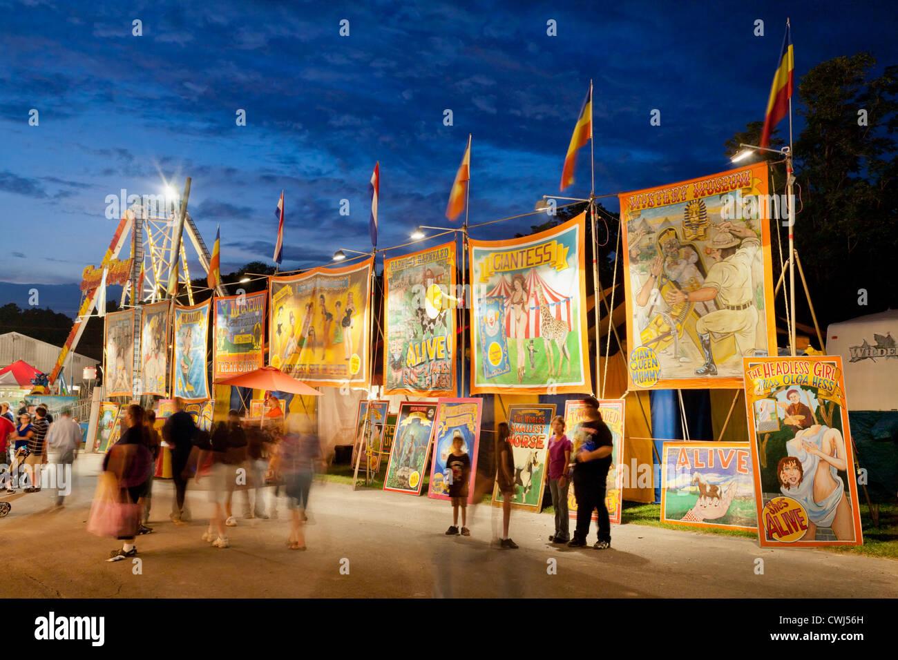 New york montgomery county fonda - Freak Show Fonda Fair Montgomery County Central New York State