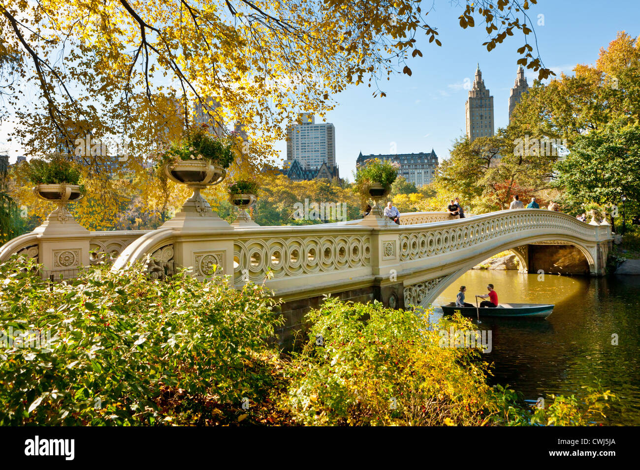 The Cast Iron Bow Bridge By Calvert Vaux Central Park
