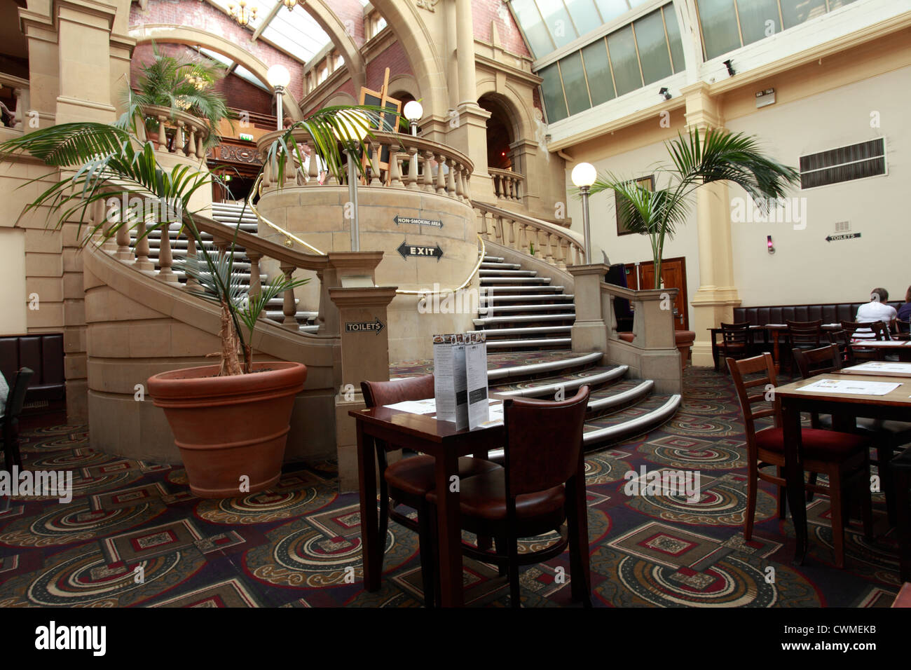 the winter gardens pub owned by jd wetherspoons harrogate stock
