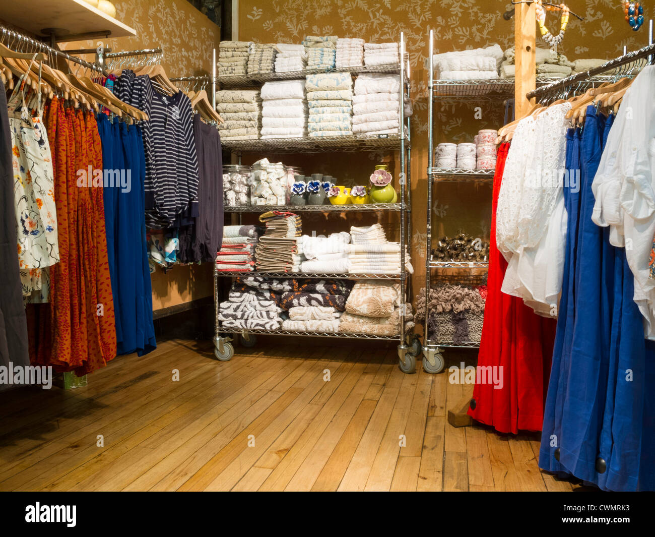 anthropologie store interior soho nyc stock photo royalty free image 50244743 alamy. Black Bedroom Furniture Sets. Home Design Ideas