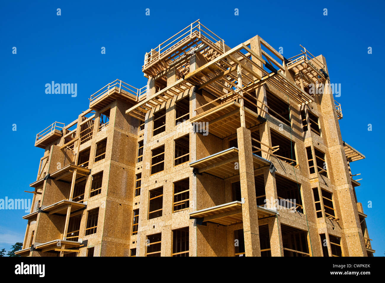 example of multi storied wood frame construction in vancouver canada - Wood Frame Construction