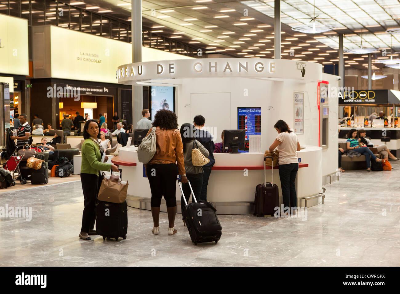 France Paris Charles de Gaulle Airport terminal 2E new M gates