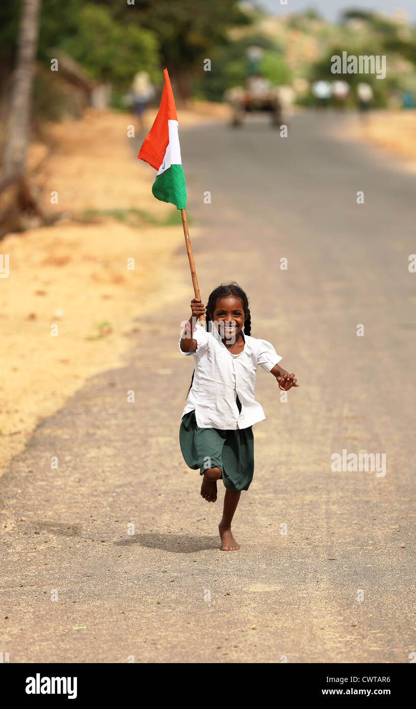 Indian Poor Children With Flag | www.pixshark.com - Images ...