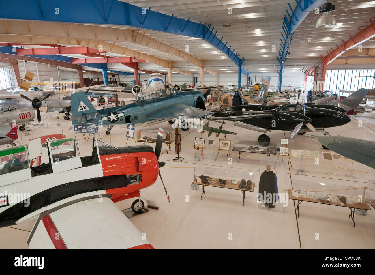 War Eagles Air Museum Santa Teresa New Mexico USA Stock Photo - War museums in usa