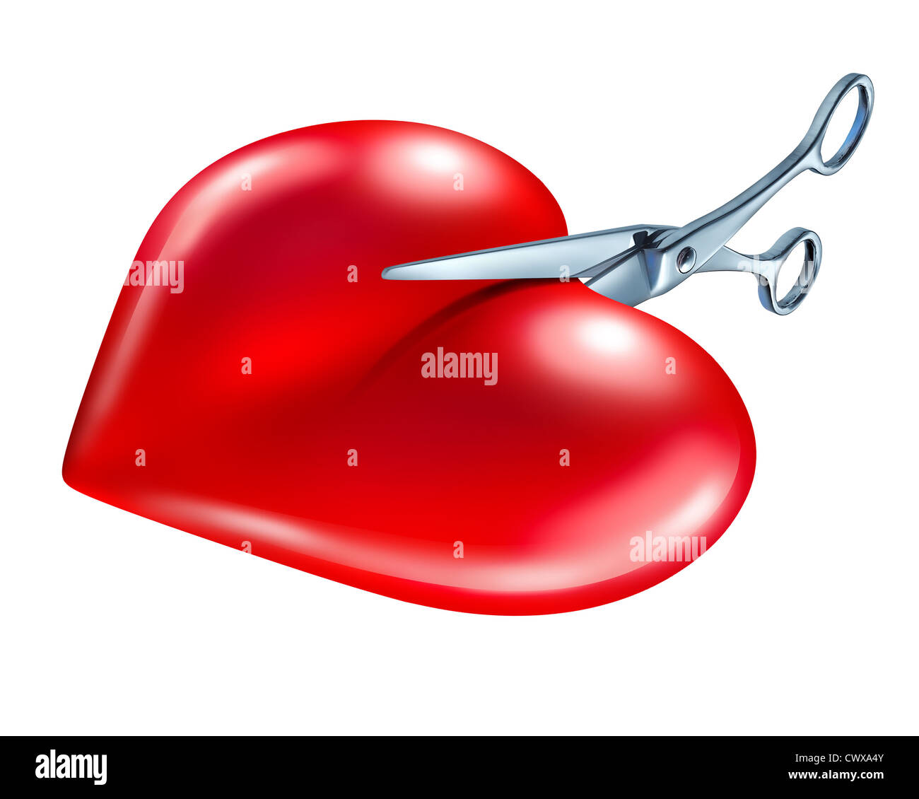 Breaking off and break up symbol of couple in crisis ending a love breaking off and break up symbol of couple in crisis ending a love relationship as a rejection and painful seperation of a romantic partnership as a red biocorpaavc Choice Image