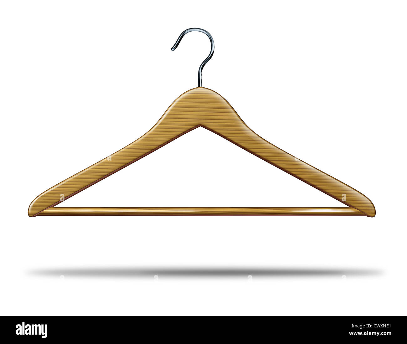Retail clothing hanger as a symbol of clothes closet storage and retail clothing hanger as a symbol of clothes closet storage and store shopping of merchandise and biocorpaavc