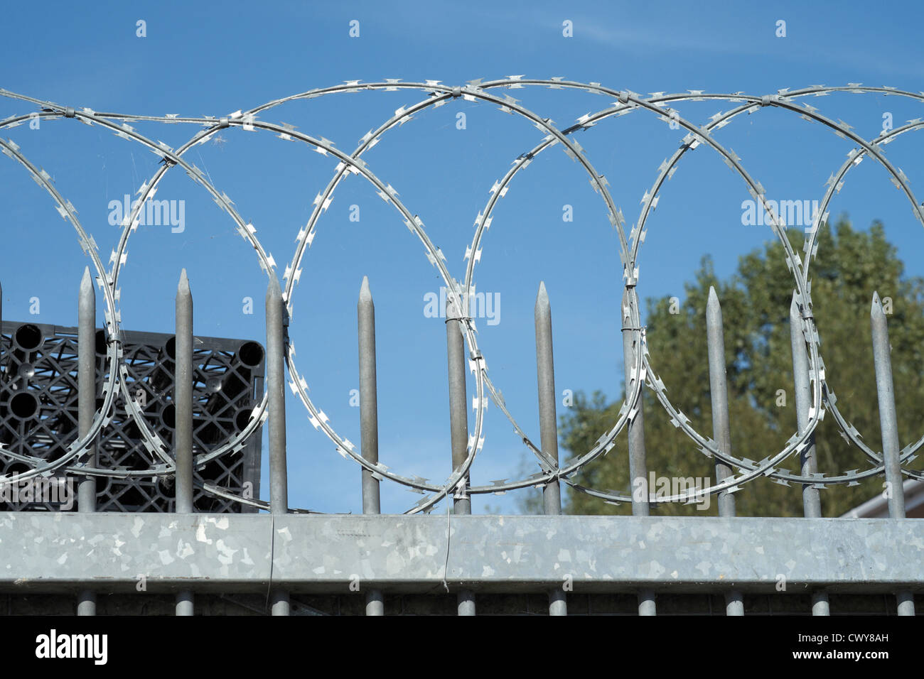 Amazing Razor Wire Damage Photos - Electrical Circuit Diagram Ideas ...
