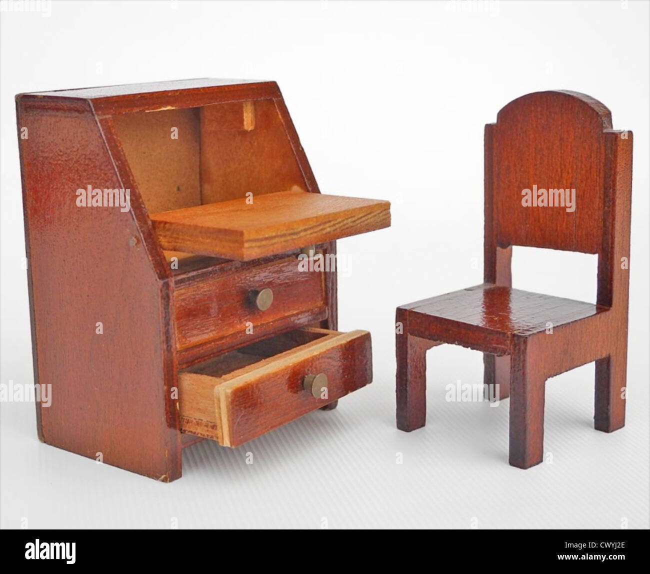 Awesome Stock Photo   Vintage Dolls House Furniture 1950s