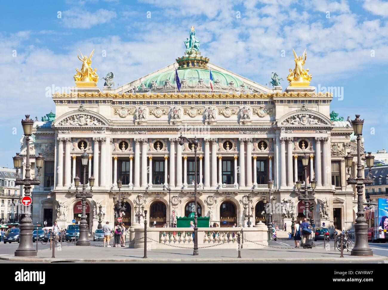 opera garnier place de l 39 opera paris france europe stock photo royalty free image 50398579. Black Bedroom Furniture Sets. Home Design Ideas