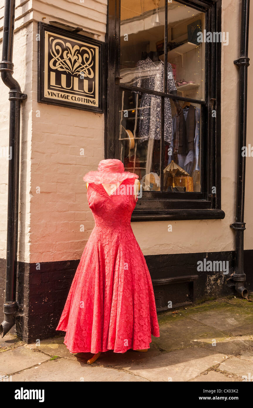 the lulu vintage clothing shop store in norwich norfolk