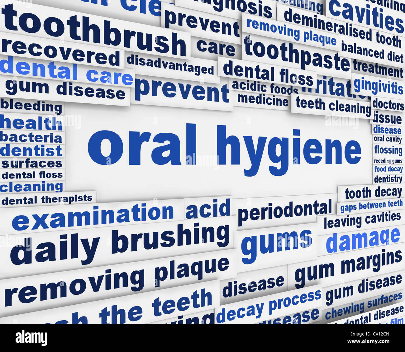 Poster design keywords - Oral Hygiene Slogan Poster Design