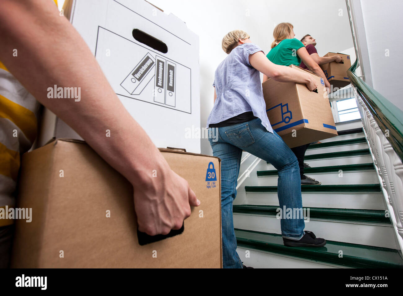 Move Furniture Stairs Stock Photos amp Move Furniture Stairs Stock