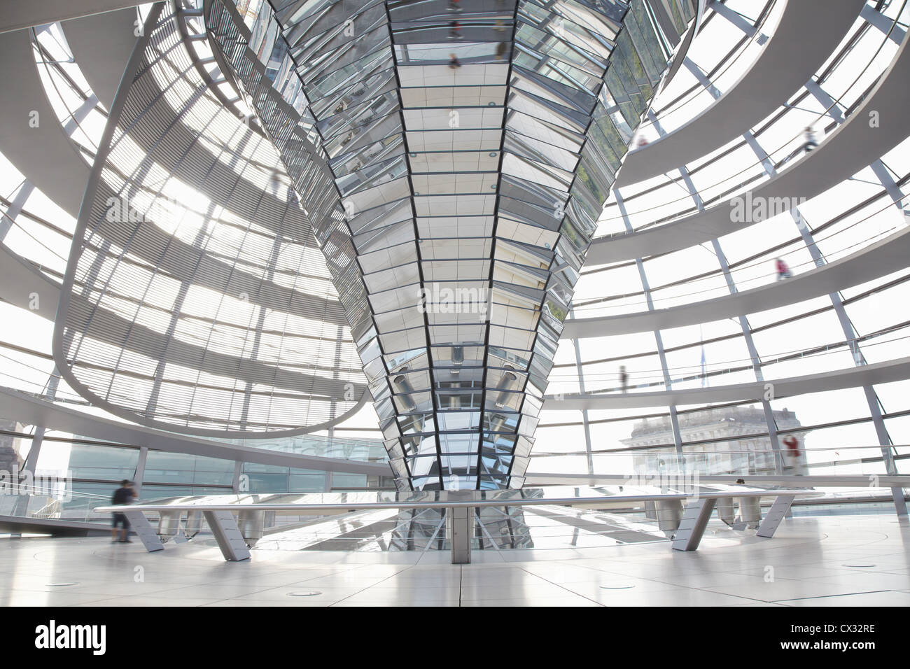reichstag dome interior berlin stock photo royalty free. Black Bedroom Furniture Sets. Home Design Ideas